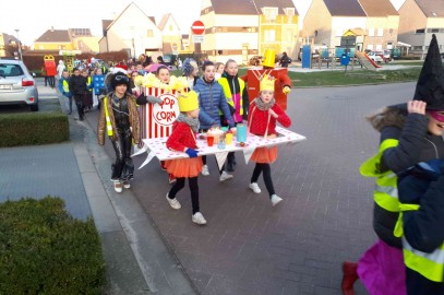 BS: Carnaval in de school